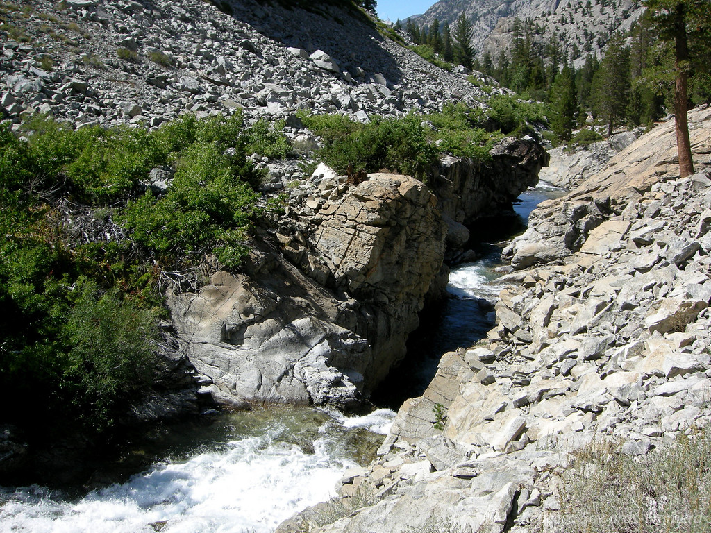 Gorge along the San Joaquin South Fork