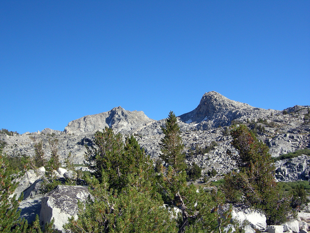 View towards Muriel Peak from Camp