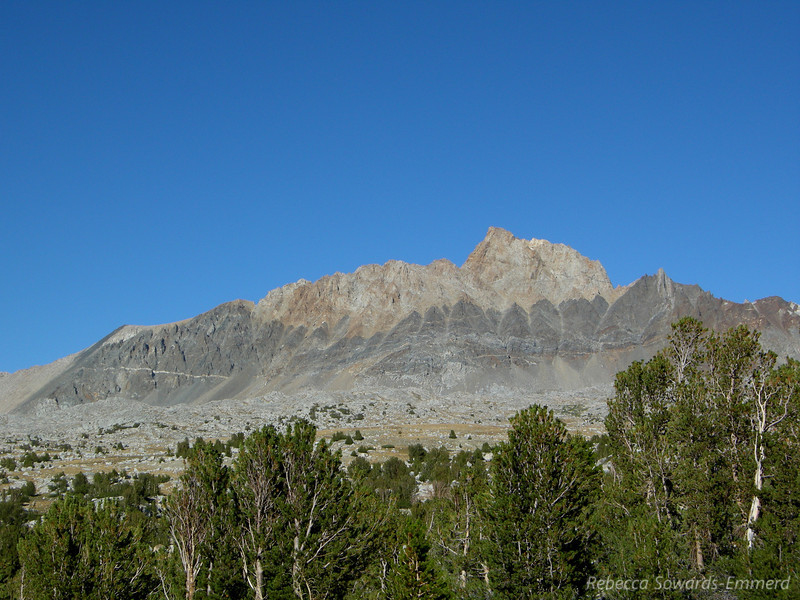 Mount Humpreys - the sentinel of Humpreys Basin. One of my favorite profiles on a sierra peak (next to whitney, of course).