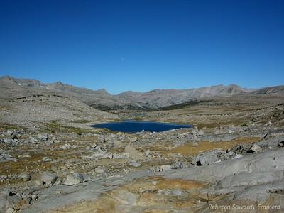 Last view back into Humpreys Basin