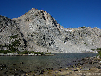 Piute Lake. I'd like to come back here for an overnight backpack sometime and fish.