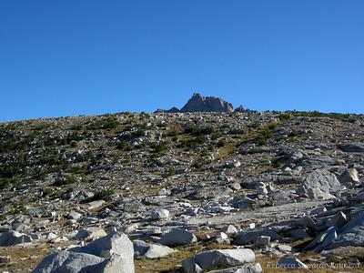 Humphreys Peak poking out