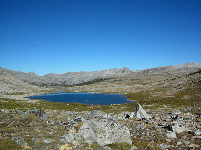 Humphreys Basin from just below Piute Pass