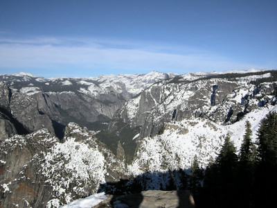 Yosemite Valley (half dome is peeking out)