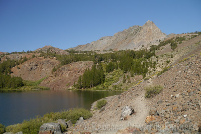 The day started off easy enough, hiking the trail out of Virginia Lakes.