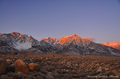 Sunrise, Lone Pine Peak