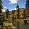 Color below Lake sabrina