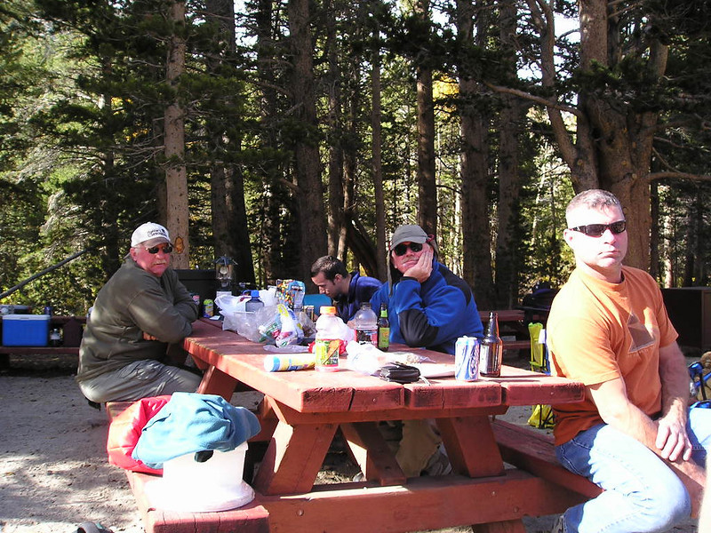 Back at camp<br /> <br /> out came the wine and food for the amazing Saturday night feast