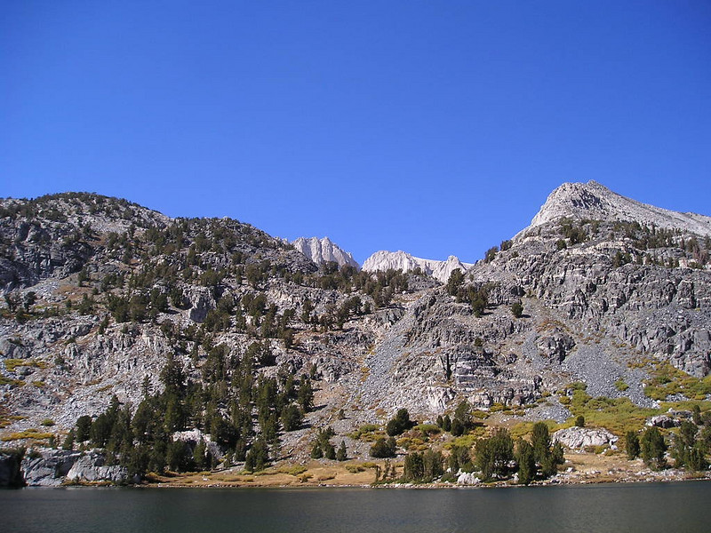 Mountain view from Long lake