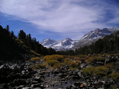 Trail and bear creek spire