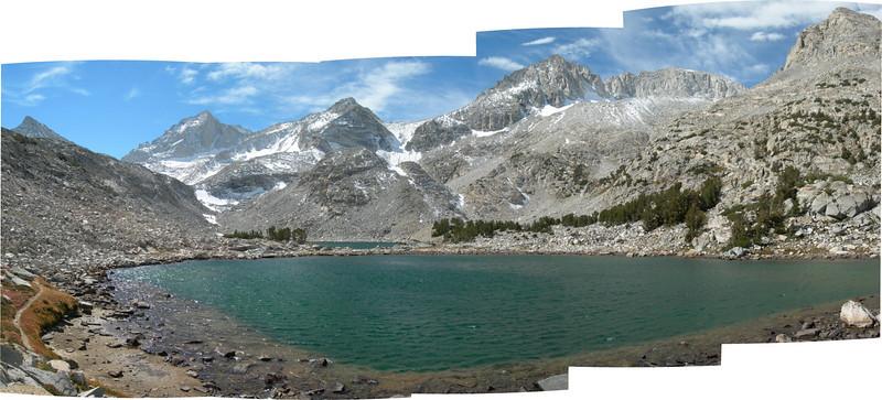 Pano of Treasure lake