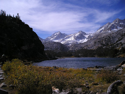 Long Lake and Bear Creek Spire