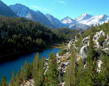 Amazing scenery along the trail
