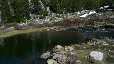 Awesome swimming hole below the Falls below Marsh lake, if only the water wasn't so cold.