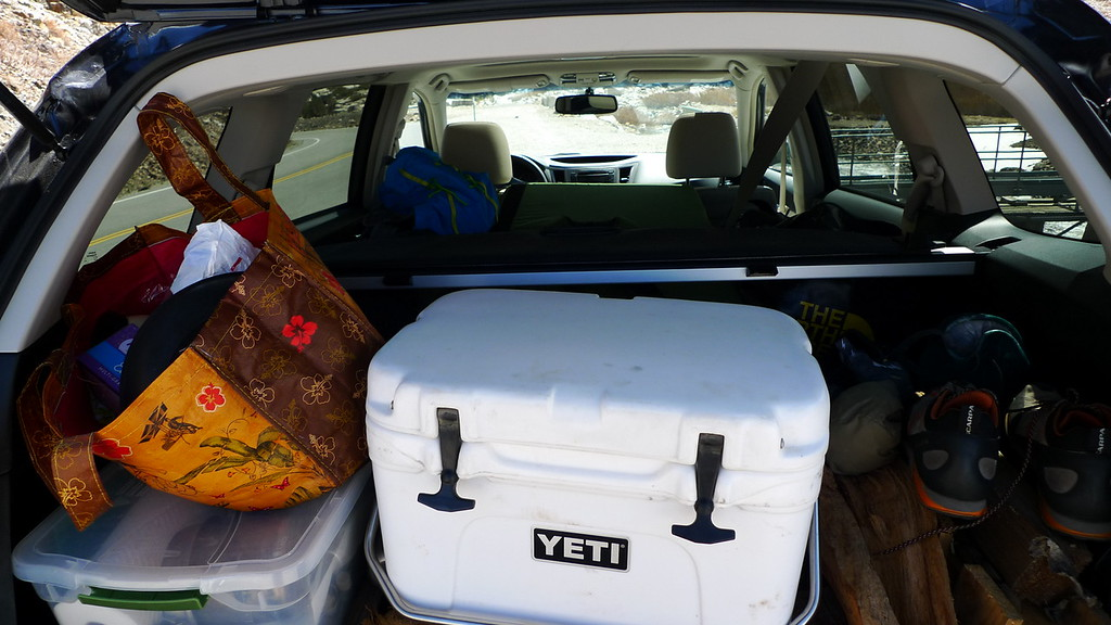 The subie fits lots of crap.