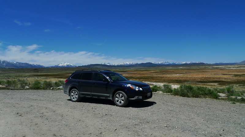 """Obligatory """"new car with a pretty background"""" photo. I love my new outback!"""