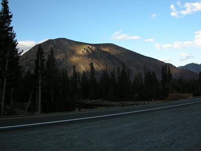 Light on Tioga Peak