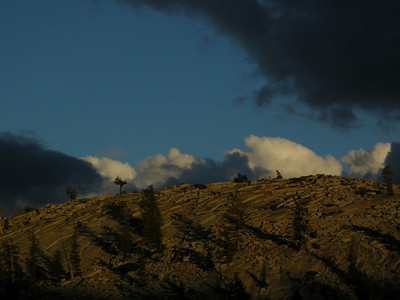 Granite and Clouds above Olmstead Point