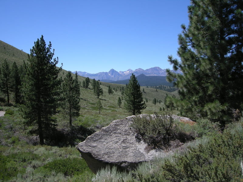 View toward the sierra