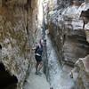 It's a pretty deep little canyon!