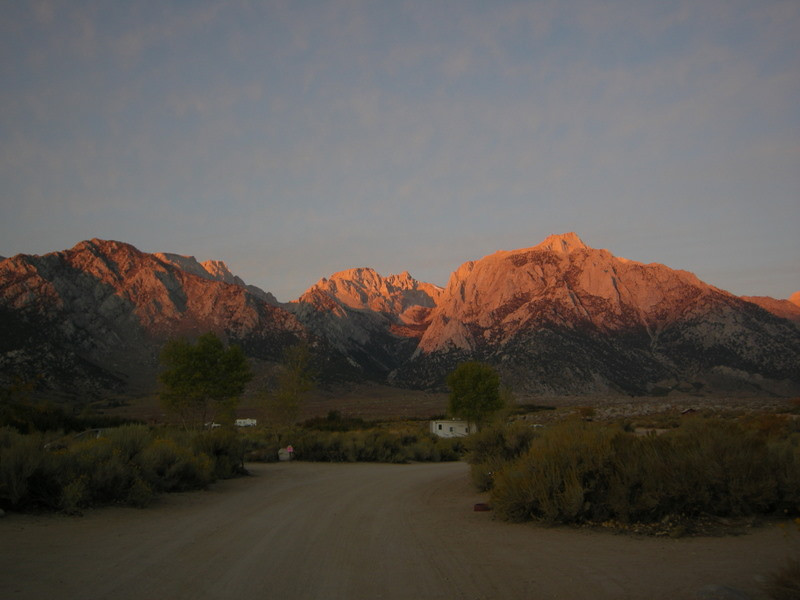 Lone Pine Peak sunrise