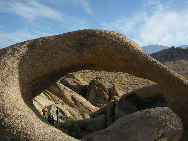 At the Mobius Arch