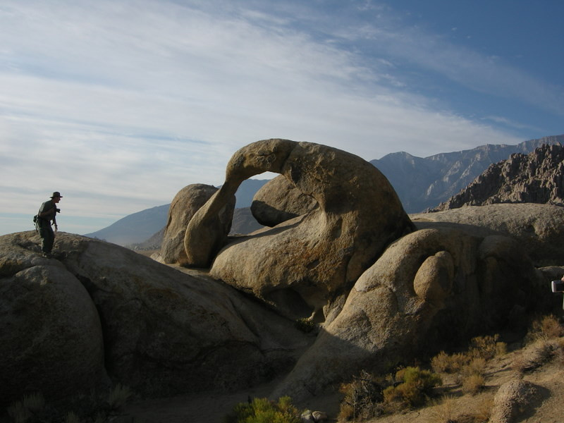 The Mobius (whitney) arch. A photographer's mecca.