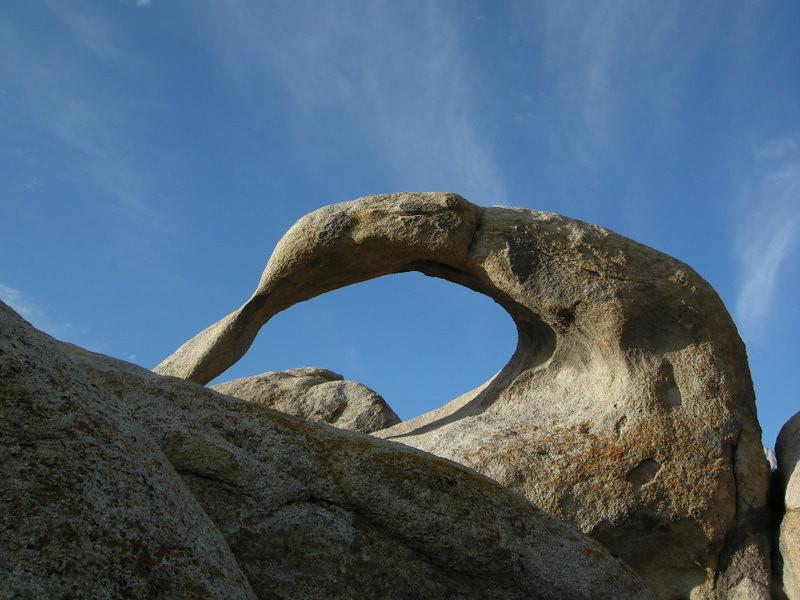 Alabama Hills mobius arch
