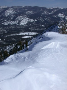 Snow and cornices