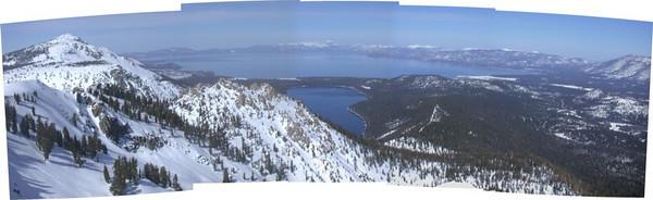 Lake Tahoe Panorama