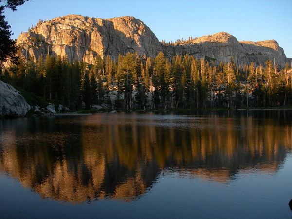 View from near out campsite on Gem Lake