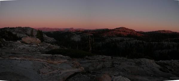 Sunset pan