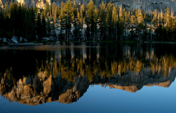 Reflections in Gem Lake