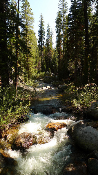 A 'quiet creek' at Crabtree trailhead