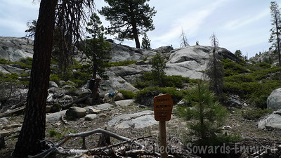 Finally at the Emigrant Wilderness border.