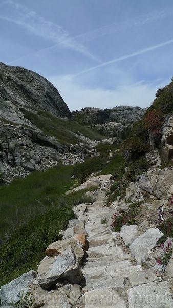 Heading into granite territory.
