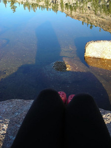 Shadow and reflection