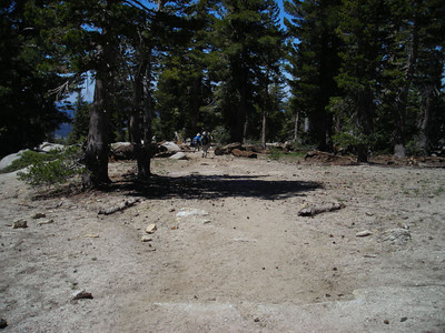 Steve, david, and Tom heading down the trail.