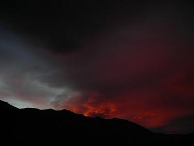 Stormy sierra sunset  last sunset shot for tonight...