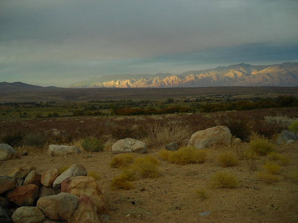 View from Horton Creek Campsite<br /> <br /> We camped at Horton Creek, one of our favorites on the East side. Can't beat the views of the valley - as the sun set we were treated to some amazing sights.