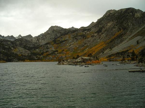 Lake Sabrina<br /> <br /> Colors at Lake Sabrina