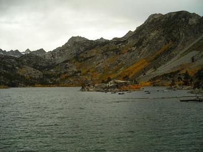 Lake Sabrina  Colors at Lake Sabrina