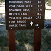 Hey, there's a new sign at the Dog Dome parking lot trailhead!<br /> <br /> Still doesn't give mileage to whitney