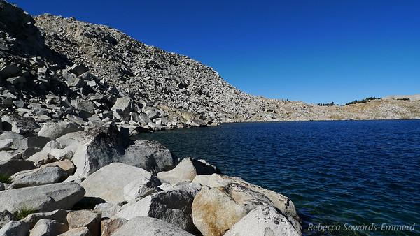 Steelhead Lake shoreline.