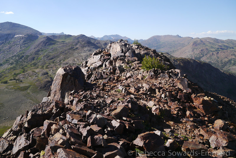 Summit rubble.