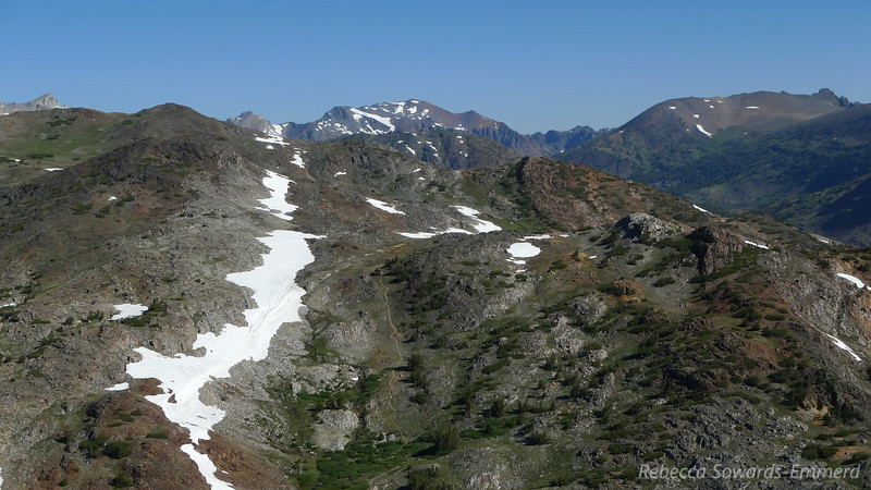 """You can see the trail towards the Great Sierra Mine. We visited it in 2007. (<a href=""""http://photos.calipidder.com/Archive/2007/20-Lakes-Basin-Great-Sierra/12282129_NsjKM#876084804_iAirp"""">pics</a>)"""