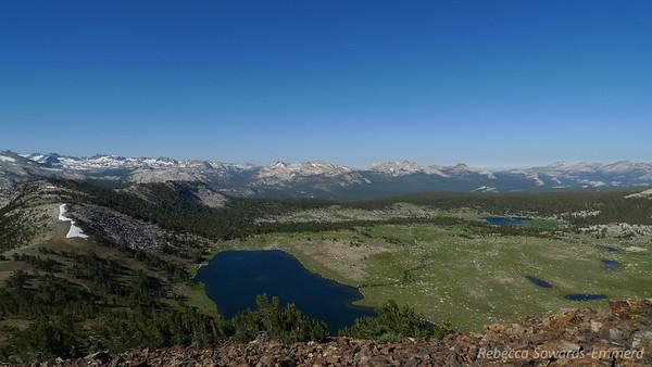 View into Yosemite.