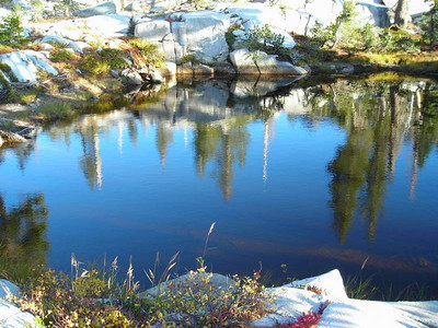 Gertrude Lake Reflections