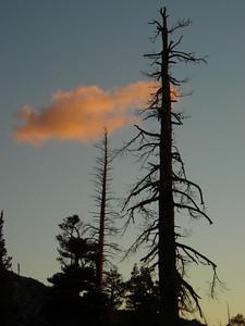 Sunset at Lake Gertrude