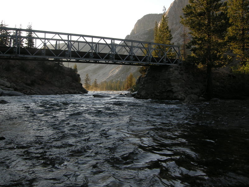Glen Aulin Footbridge